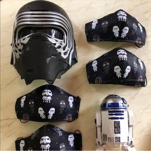 Cute Star Wars Breathable Kid's Face Mask